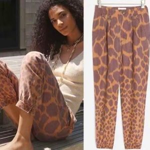 NWT ANTHROPOLOGIE TAMARIND TROUSER JOGGERS Size 2.